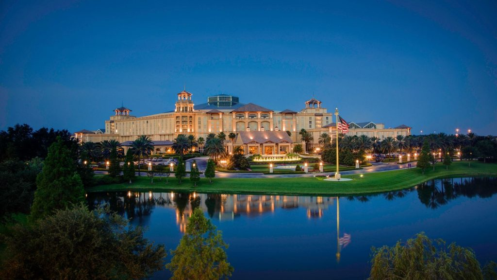Gaylord Palms Resort and Convention Center, a Marriott property, in Kissimmee, FL.